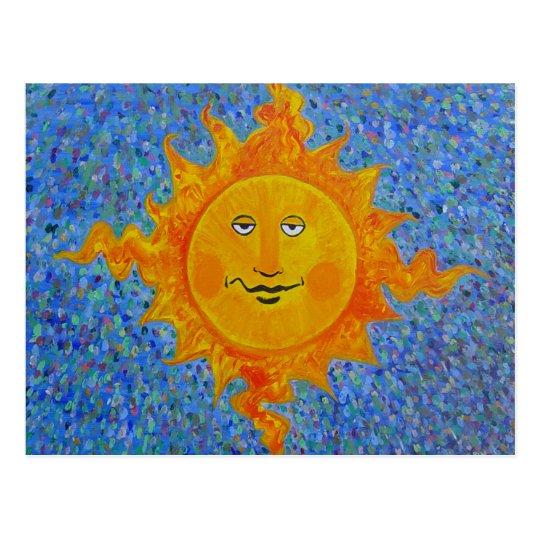 Postcard - Mr Sunshine
