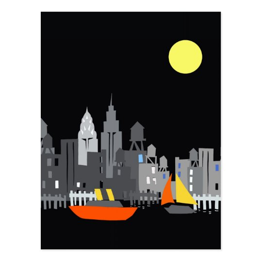 postcard New York City design tom slaughter