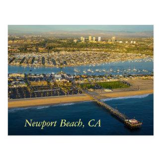 Postcard Newport Beach California