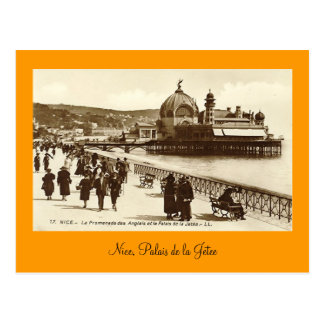 Postcard, Nice, Palais de la Jetee