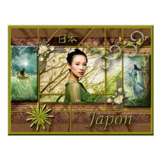 postcard nihon