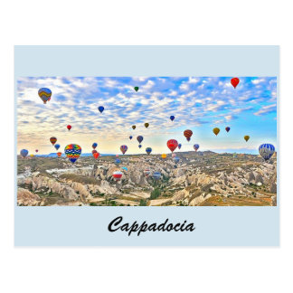 postcard of Cappadocia