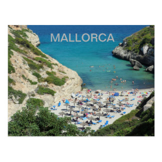 postcard of Coves of Majorca