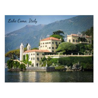 Postcard of Lake Como Italy