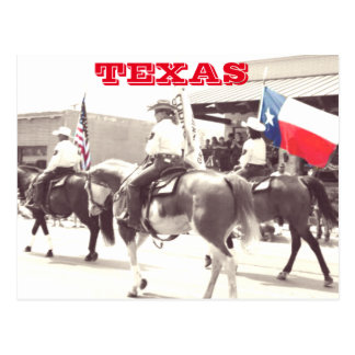 Postcard of Texas 4th of July Parade