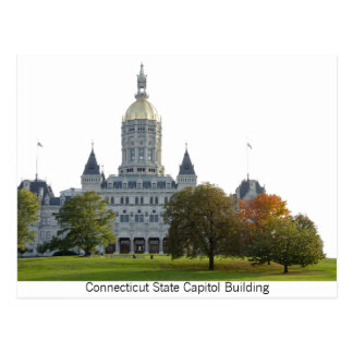 Postcard of the Connecticut State Capitol Building