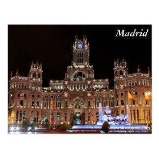 "Postcard of the ""Palace of Cibeles """