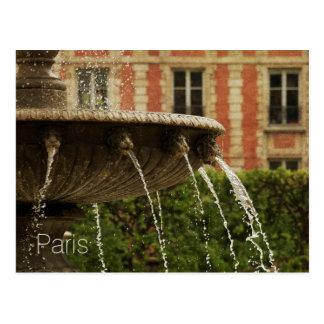 Postcard of the Place des Vosges, Paris, France