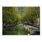 Postcard of Vassé Canal, Annecy, France