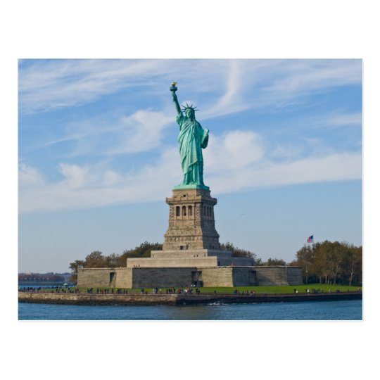 Postcard off Rules Liberty, New York the USA