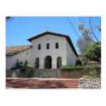 Postcard: Old Mission, San Luis Obispo