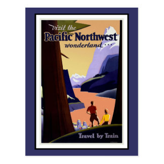 Postcard Pacific Northwest Greetings Vintage