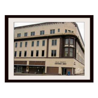 Postcard-Plainview TX Courthouse Annex building Postcard