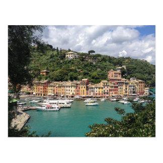 Postcard Portofino in Genoa Province, Italy