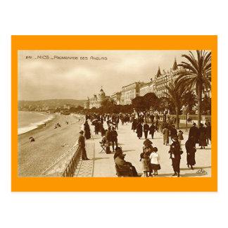 Postcard, Promenade des Anglais, Nice Postcard