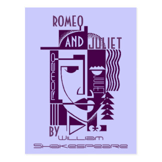 Postcard Promo Shakespeare Romeo & Juliet Play PC