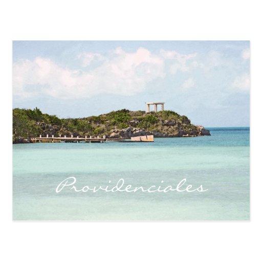 postcard, PROVIDENCIALES, TURKS & CAICOS ISLANDS
