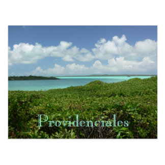 "postcard, ""PROVIDENCIALES/TURKS & CAICOS ISLANDS"""