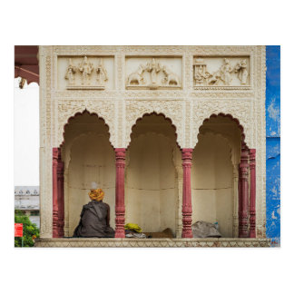 Postcard Pushkar Camel Fair, the Rajasthan, India