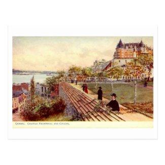 Postcard, Quebec, Chateau Frontenac
