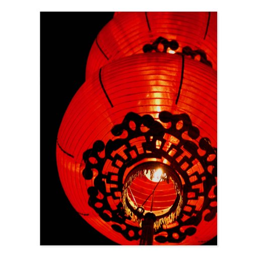 Postcard - Red Lantern