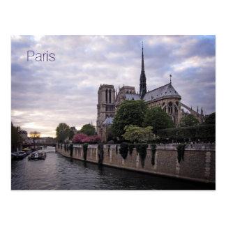Postcard - River Seine & Notre Dame de Paris