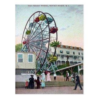 Postcard - Rocky Point, Rhode island