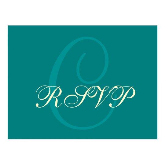 Postcard RSVP Card