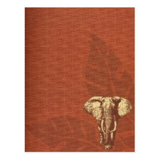 Postcard Safari Elephant