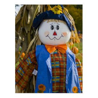 Postcard:  Scarecrow