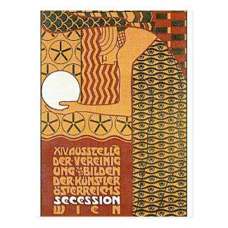 Postcard: Secession Art -14th Vienna Exhibit, 1902 Postcard