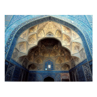 Postcard South iwan, Jameh Mosque, Isfahan, Iran