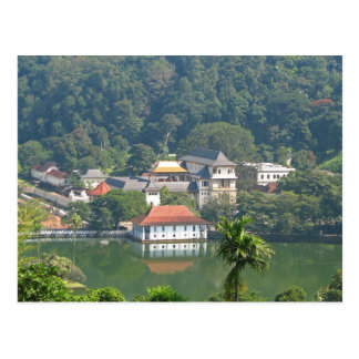 Postcard Sri Lanka - Kandy Temple off the Tooth