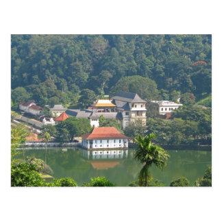 Postcard Sri Lanka - Kandy Temple off the Tooth
