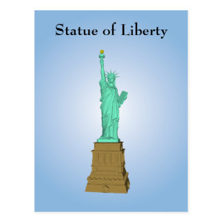 Postcard Statue of Liberty