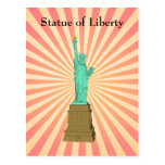 Postcard: Statue of Liberty