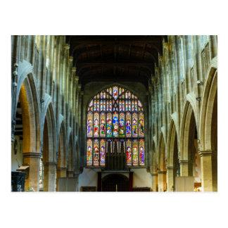 Postcard Stratford-Upon-Avon Church