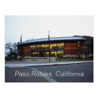 Postcard: Superior Court, Paso Robles, California Postcard