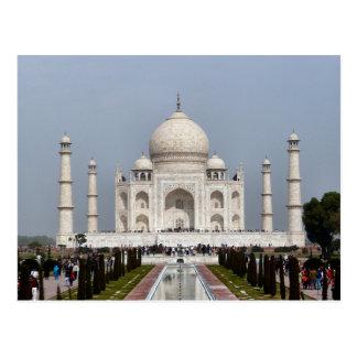 Postcard Taj Mahal, Agra India