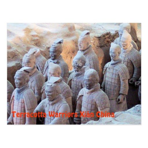POSTCARD - Terracotta Warriors Xián China