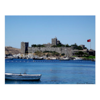 Postcard The Castle Off Bodrum - Turkey