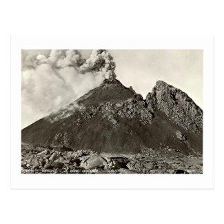 Postcard, The Central Cone of Vesuvius