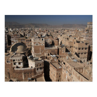 Postcard The City Of Sana' has, Yemen