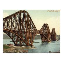 Postcard, The Forth Bridge, 1910