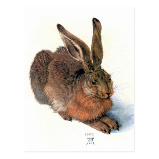 Postcard:  The Rabbit Postcard