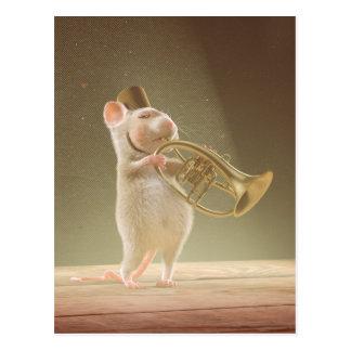 "Postcard: ""The Trumpeter"" Postcard"