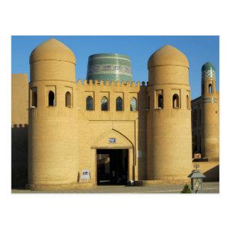 Postcard The West off Spoils Khiva, Uzbekistan