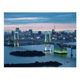 Postcard Tokyo Obaida, Tokyo, Japan
