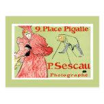 Postcard:  Toulouse-Lautrec - P.Sescau Photographe Postcard