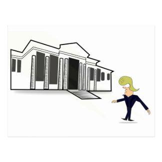 Postcard - TRUMP'S WHITE HOUSE VIRGIN VISIT
